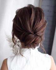 Rustic Hairstyle Ideas For Wedding37
