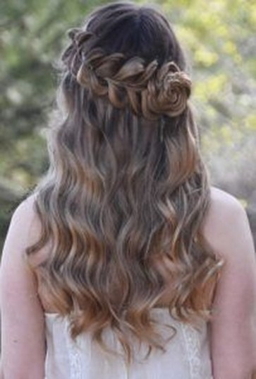 Rustic Hairstyle Ideas For Wedding39