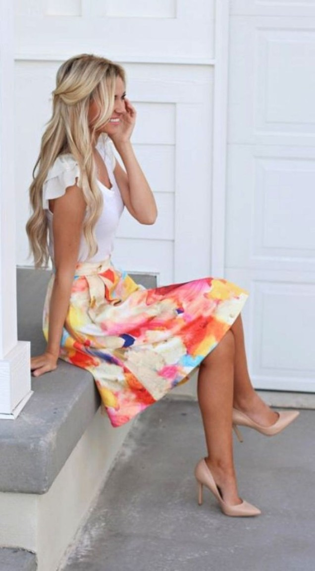 Unique Work Outfit Ideas For Summer And Spring38