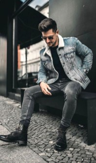 Elegant Winter Outfits Ideas For Men06
