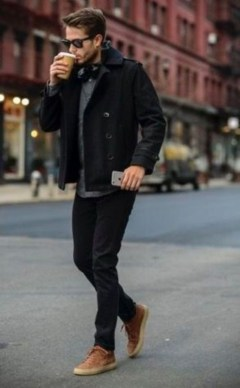 Elegant Winter Outfits Ideas For Men26