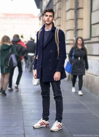 Elegant Winter Outfits Ideas For Men29