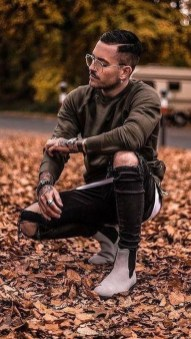 Flawless Men Black Jeans Ideas For Fall27