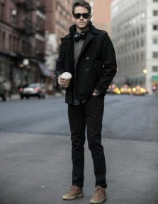 Flawless Men Black Jeans Ideas For Fall32