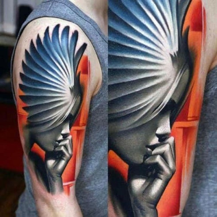 Gorgeous Arm Tattoo Design Ideas For Men That Looks Cool01