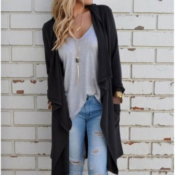 Gorgeous Summer Outfit Ideas With Cardigans For Women08