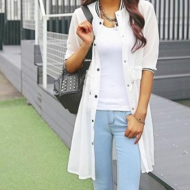 Gorgeous Summer Outfit Ideas With Cardigans For Women20