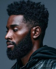 Hottest Black Hair Style Ideas For Men To Make You Cool14