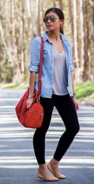 Inspiring Summer Outfits Ideas With Leggings To Try19