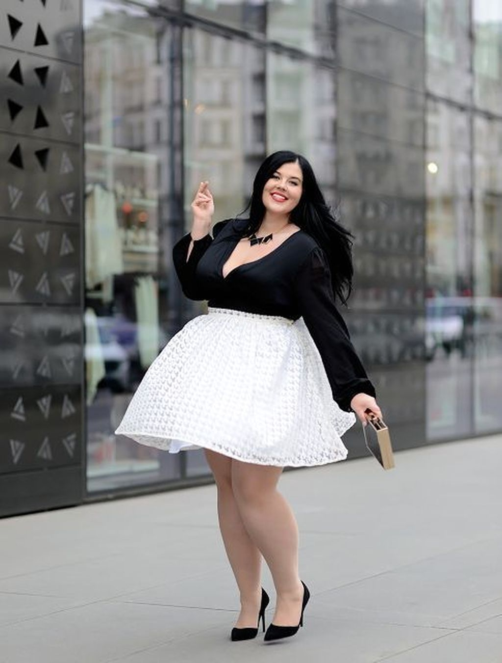 Trendy Plus Sized Style Ideas For Women17