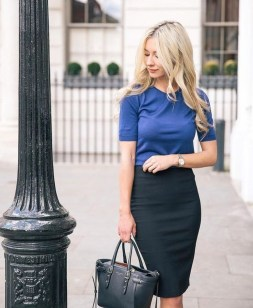 Unique Office Outfits Ideas For Career Women30