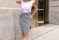Attractive Spring And Summer Business Outfit Ideas For Women47