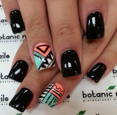 Cozy Aztec Nail Art Designs Ideas You Will Love To Copy27