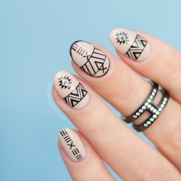Cozy Aztec Nail Art Designs Ideas You Will Love To Copy29