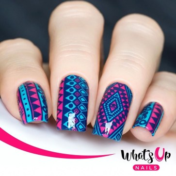Cozy Aztec Nail Art Designs Ideas You Will Love To Copy30