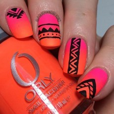 Cozy Aztec Nail Art Designs Ideas You Will Love To Copy37