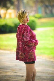 Cozy Combinations Ideas With Floral Blazers You Must Try06