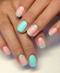 Creative Half Moon Nail Art Designs Ideas To Try16