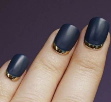 Creative Half Moon Nail Art Designs Ideas To Try21