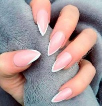 Cute French Manicure Designs Ideas To Try This Season05