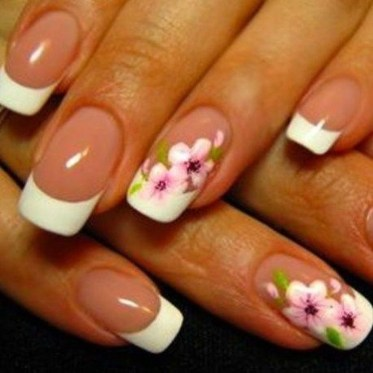 Cute French Manicure Designs Ideas To Try This Season09
