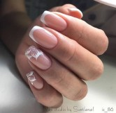 Cute French Manicure Designs Ideas To Try This Season14
