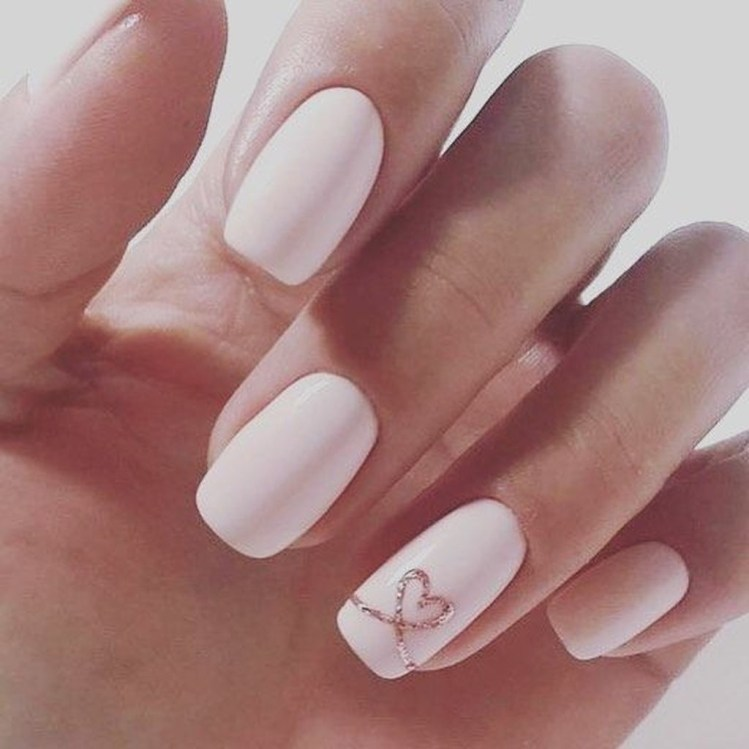 Cute French Manicure Designs Ideas To Try This Season33