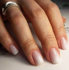 Cute French Manicure Designs Ideas To Try This Season36
