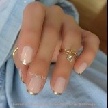 Cute French Manicure Designs Ideas To Try This Season39