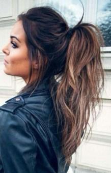 Elegant Brunette Hairstyles Ideas For Lovely Women25