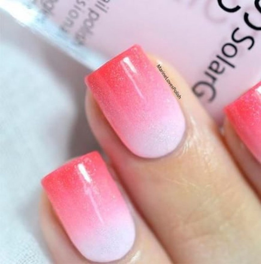 Fashionable Pink And White Nails Designs Ideas You Wish To Try04