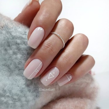 Fashionable Pink And White Nails Designs Ideas You Wish To Try15