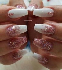 Fashionable Pink And White Nails Designs Ideas You Wish To Try23