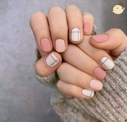 Fashionable Pink And White Nails Designs Ideas You Wish To Try34