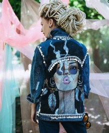 Flawless Outfit Ideas How To Wear Denim Jacket10