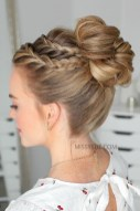 Unique Bun Hairstyles Ideas That Youll Love09
