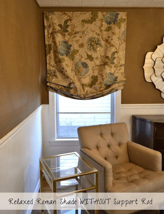 Relaxed Roman Shades For Casual Interiors  Drapery Room Ideas
