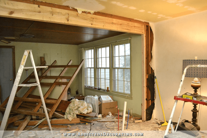 The Victory Is Mine LoadBearing Wall Removed Load