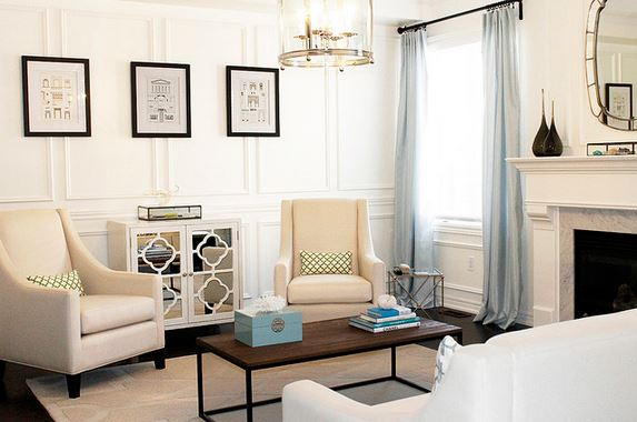 Wall Trim Ideas For My Living Room