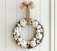 DIY Seashell Wreath {Pottery Barn Knockoff} - Addicted 2 DIY