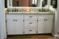 DIY Double Bathroom Vanity - Addicted 2 DIY