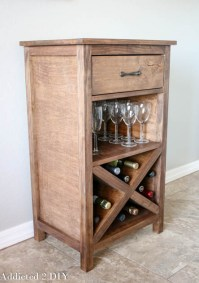 DIY Wine Storage Cabinet - Addicted 2 DIY
