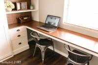 DIY Modern Farmhouse Murphy Bed - How To Build The Desk ...