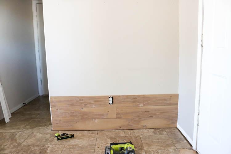Shiplap Flooring Installation