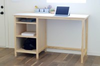 DIY Counter-Height Desk with Storage - Addicted 2 DIY