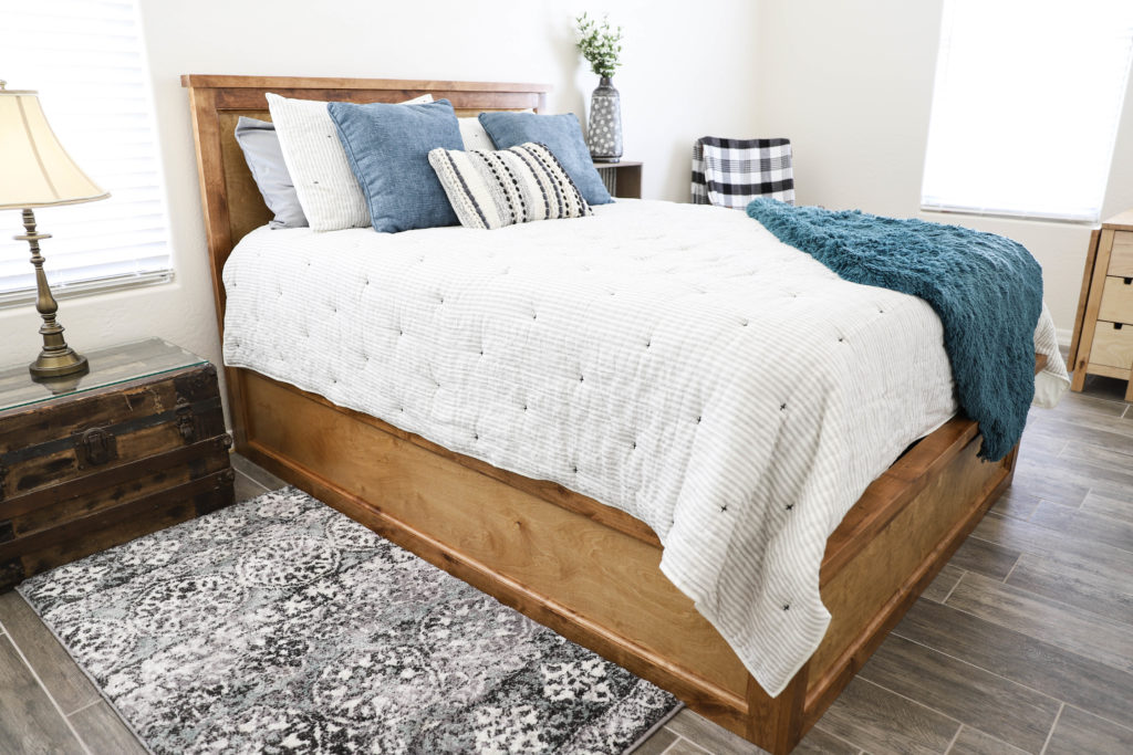 How To Build A Queen Size Storage Bed Addicted 2 Diy