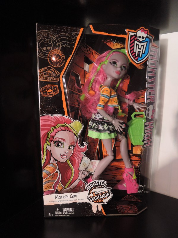 Monster High Marisol Coxi Student Exchange -growing Doll Collection