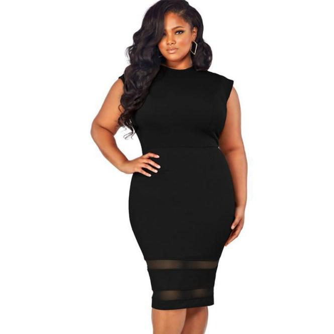 Sheer Bodycon Dress Plus Size – Best Dress Style 2017