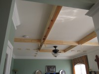 DIY Coffered Ceiling | Addicted2projects