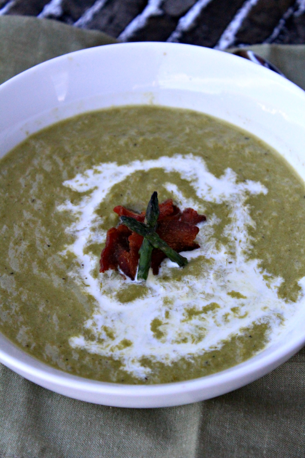 cream of asparagus soup readingfoodie stir addicted to recipes